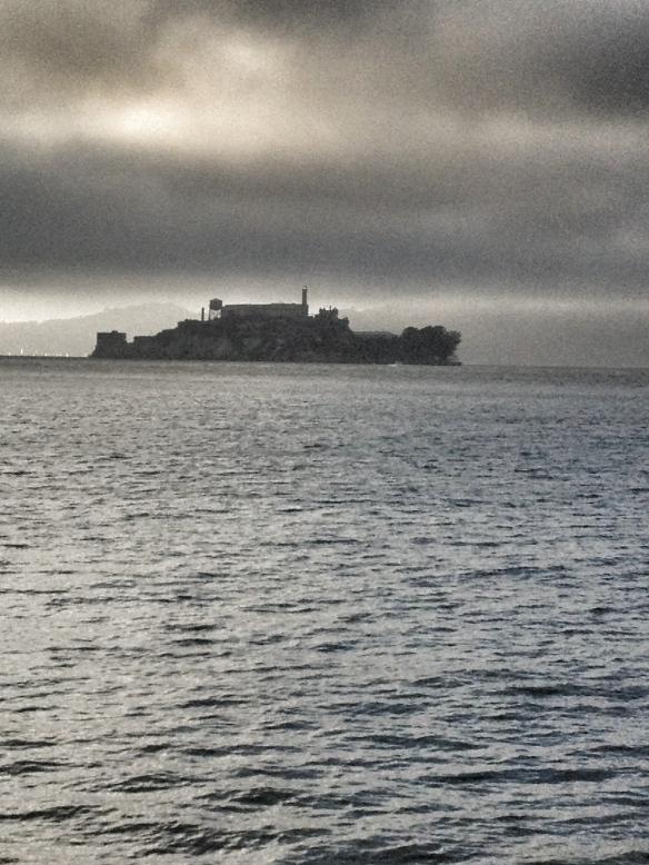 View of Alcatraz from Fisherman's Wharf